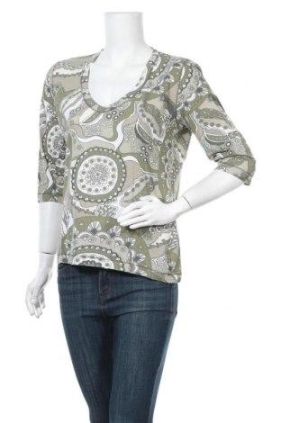 Дамска блуза Tom Tailor, Размер L, Цвят Зелен, Памук, Цена 4,99лв.