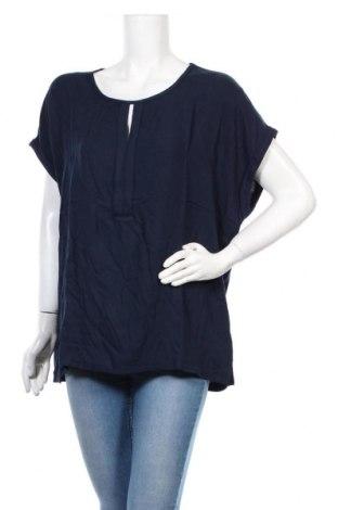 Γυναικεία μπλούζα Tom Tailor, Μέγεθος 3XL, Χρώμα Μπλέ, Βισκόζη, Τιμή 18,95€
