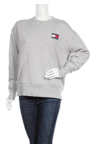 Дамска блуза Tommy Hilfiger, Размер M, Цвят Сив, Памук, Цена 67,16лв.