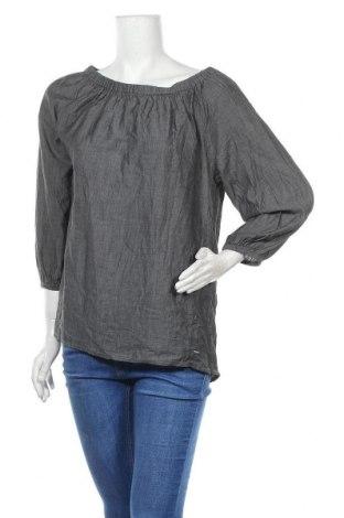 Дамска блуза Triangle By s.Oliver, Размер L, Цвят Сив, Памук, Цена 18,90лв.