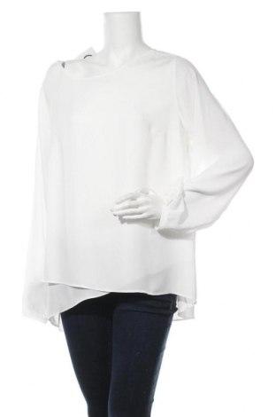 Дамска блуза Triangle By s.Oliver, Размер XL, Цвят Бял, Полиестер, Цена 18,48лв.