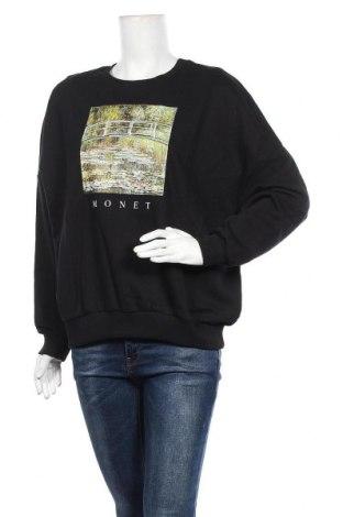 Дамска блуза Twintip, Размер L, Цвят Черен, Памук, Цена 25,92лв.