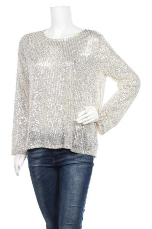 Дамска блуза Vrs Woman, Размер L, Цвят Златист, 97% полиестер, 3% еластан, Цена 12,29лв.