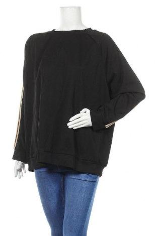 Дамска блуза Vrs Woman, Размер XXL, Цвят Черен, 95% полиестер, 5% еластан, Цена 17,96лв.