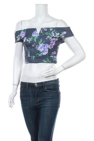 Дамска блуза Wal G, Размер S, Цвят Многоцветен, 95% полиестер, 5% еластан, Цена 9,72лв.