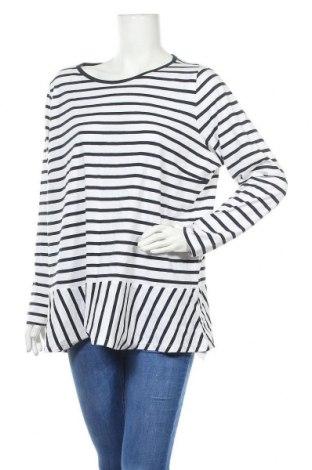 Дамска блуза Women by Tchibo, Размер XL, Цвят Син, Памук, Цена 15,17лв.