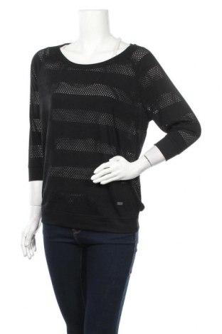 Дамска блуза Women by Tchibo, Размер M, Цвят Черен, 65% полиестер, 35% вискоза, Цена 15,17лв.