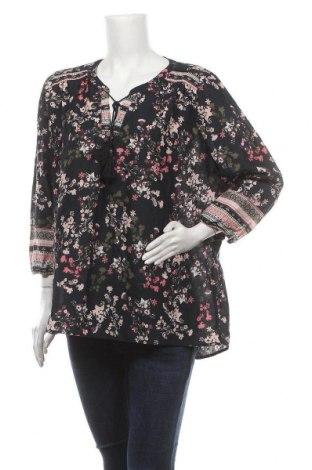 Дамска блуза Yessica, Размер XXL, Цвят Многоцветен, Памук, Цена 17,85лв.