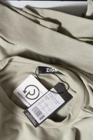 Дамска блуза Zign, Размер XXL, Цвят Зелен, Памук, Цена 18,13лв.