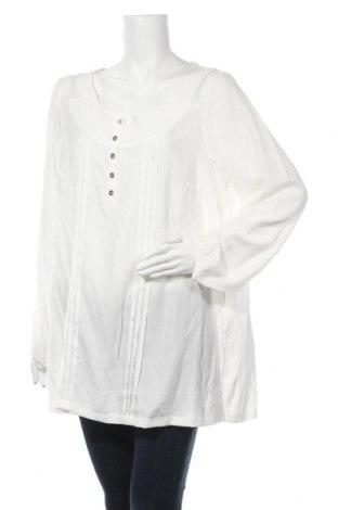 Дамска блуза Zizzi, Размер 3XL, Цвят Екрю, 65% полиестер, 35% вискоза, Цена 9,92лв.