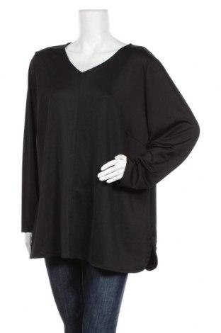 Дамска блуза Zizzi, Размер 3XL, Цвят Черен, 95% полиестер, 5% еластан, Цена 18,90лв.