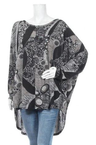 Дамска блуза Zizzi, Размер XL, Цвят Черен, 95% полиестер, 5% еластан, Цена 8,03лв.