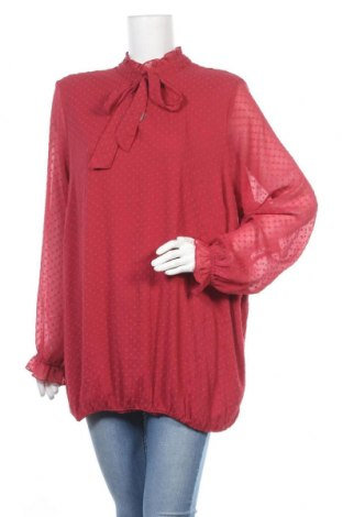 Дамска блуза Zizzi, Размер XL, Цвят Червен, Полиестер, Цена 13,23лв.