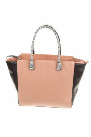Дамска чанта H&M, Цвят Розов, Еко кожа, Цена 31,50лв.