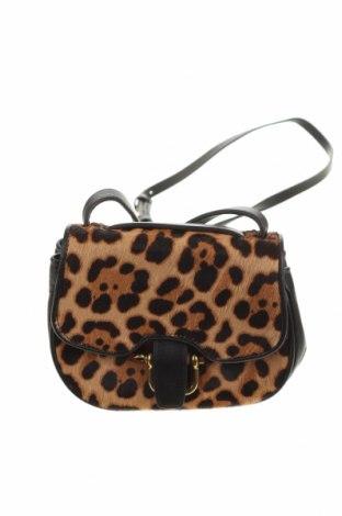Дамска чанта J.Crew, Цвят Многоцветен, Естествен косъм, естествена кожа, Цена 187,85лв.