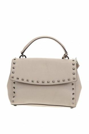Дамска чанта MICHAEL Michael Kors, Цвят Сив, Естествена кожа, Цена 408,85лв.