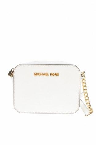 Γυναικεία τσάντα Michael Kors, Χρώμα Λευκό, Γνήσιο δέρμα, Τιμή 87,65€
