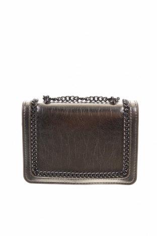 Дамска чанта Zara, Цвят Сребрист, Еко кожа, Цена 36,00лв.