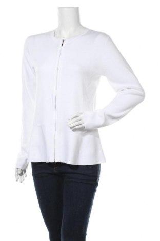 Дамска жилетка Esprit, Размер XL, Цвят Бял, 78% памук, 20% полиамид, 2% еластан, Цена 51,75лв.