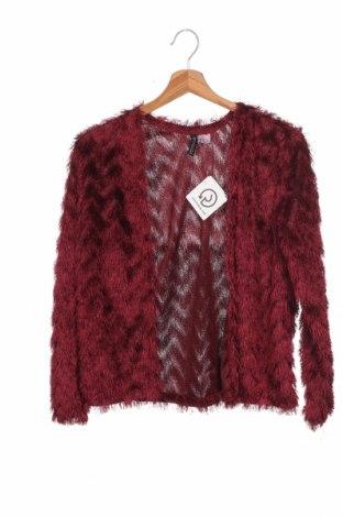 Γυναικεία ζακέτα H&M Divided, Μέγεθος XS, Χρώμα Κόκκινο, Πολυεστέρας, Τιμή 14,39€