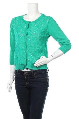 Дамска жилетка Lindex, Размер M, Цвят Зелен, Цена 17,01лв.