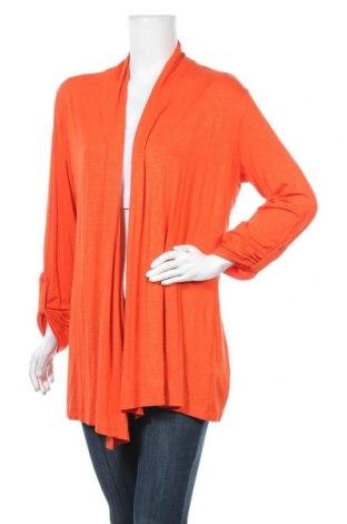 Дамска жилетка Via Appia, Размер XL, Цвят Оранжев, 95% вискоза, 5% еластан, Цена 12,76лв.