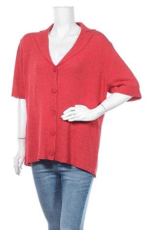 Дамска жилетка Via Appia, Размер XL, Цвят Червен, 60% полиакрил, 40% полиамид, Цена 16,38лв.