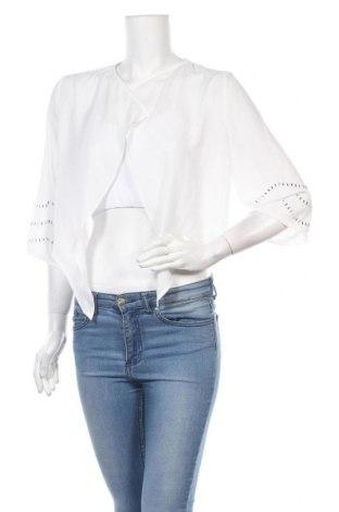 Γυναικεία ζακέτα Vila, Μέγεθος M, Χρώμα Λευκό, Πολυεστέρας, Τιμή 22,73€