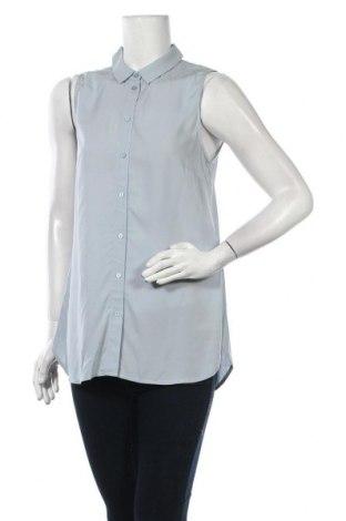 Γυναικείο πουκάμισο, Μέγεθος M, Χρώμα Μπλέ, Βισκόζη, Τιμή 13,92€