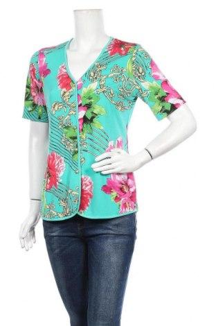 Дамска риза Alfredo Pauly, Размер M, Цвят Зелен, Цена 14,96лв.