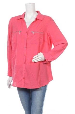Γυναικείο πουκάμισο Autograph, Μέγεθος XL, Χρώμα Ρόζ , Πολυεστέρας, Τιμή 10,52€