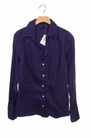 Γυναικείο πουκάμισο Banana Republic, Μέγεθος XS, Χρώμα Βιολετί, 98% βαμβάκι, 2% ελαστάνη, Τιμή 27,77€
