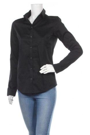 Γυναικείο πουκάμισο Banana Republic, Μέγεθος S, Χρώμα Μαύρο, 96% βαμβάκι, 4% ελαστάνη, Τιμή 12,62€