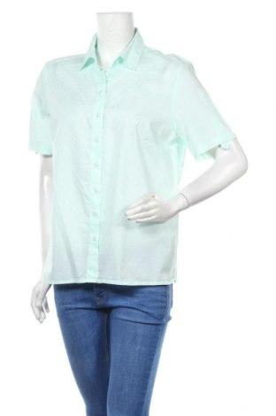 Дамска риза Eterna, Размер XL, Цвят Зелен, Цена 5,36лв.