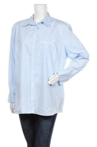 Дамска риза Eterna, Размер XL, Цвят Син, Цена 15,12лв.