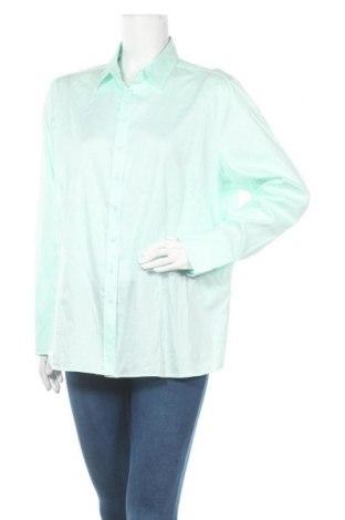 Дамска риза Eterna, Размер XXL, Цвят Зелен, Памук, Цена 7,98лв.