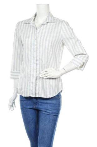Дамска риза Eterna, Размер M, Цвят Сив, 75% памук, 25% лен, Цена 6,18лв.