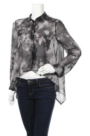 Γυναικείο πουκάμισο H&M Divided, Μέγεθος S, Χρώμα Μαύρο, 100% πολυεστέρας, Τιμή 8,83€