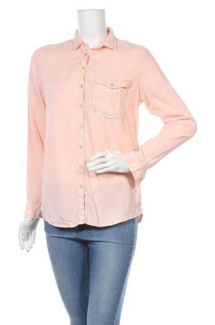 Дамска риза Ltb, Размер S, Цвят Оранжев, 100% тенсел, Цена 17,85лв.