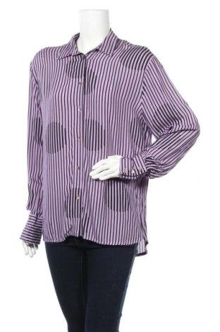 Дамска риза Luxzuz One Two, Размер L, Цвят Лилав, 100% вискоза, Цена 28,93лв.