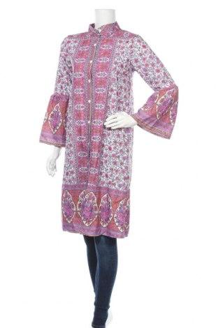 Дамска риза Miss Look, Размер L, Цвят Многоцветен, Памук, полиестер, Цена 23,10лв.