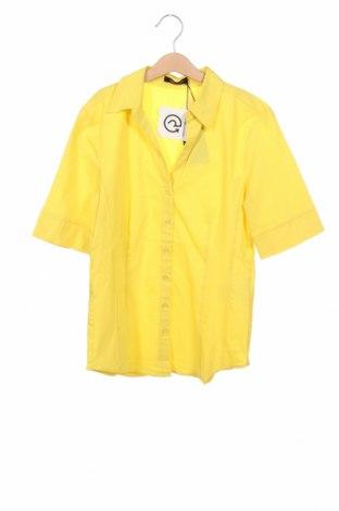 Dámská košile  More & More, Velikost XS, Barva Žlutá, 69% bavlna, 28% polyamide, 3% elastan, Cena  750,00Kč