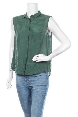 Дамска риза Mtwtfss Weekday, Размер M, Цвят Зелен, Цена 11,34лв.