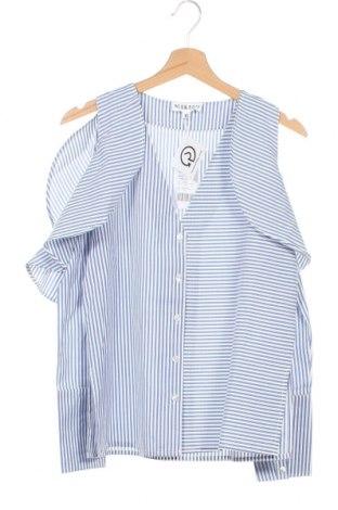 Dámská košile  Neon Rose, Velikost XS, Barva Modrá, 51% polyester, 49% bavlna, Cena  533,00Kč