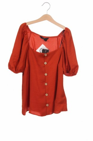 Dámská košile  New Look, Velikost XS, Barva Hnědá, Polyester, Cena  479,00Kč