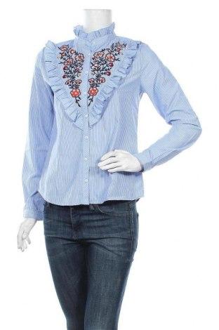Dámská košile  ONLY, Velikost S, Barva Modrá, 80% polyester, 20% bavlna, Cena  500,00Kč