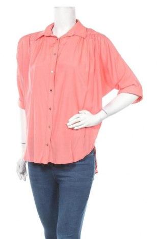 Дамска риза Luxzuz One Two, Размер L, Цвят Розов, 60% полиестер, 40% тенсел, Цена 16,96лв.