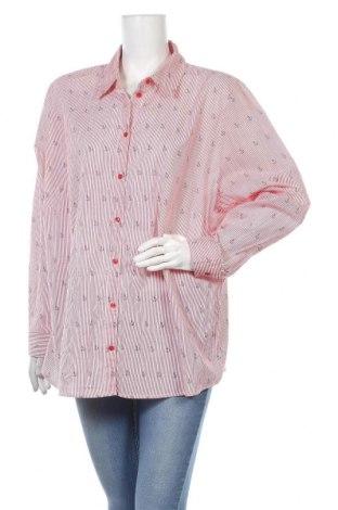 Дамска риза Paola, Размер 3XL, Цвят Червен, Цена 16,07лв.