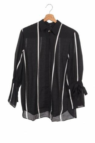 Dámská košile  River Island, Velikost XS, Barva Černá, 78% viskóza, 22% polyamide, Cena  641,00Kč