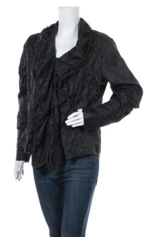 Дамска риза Sandwich_, Размер XL, Цвят Черен, Полиестер, Цена 7,72лв.